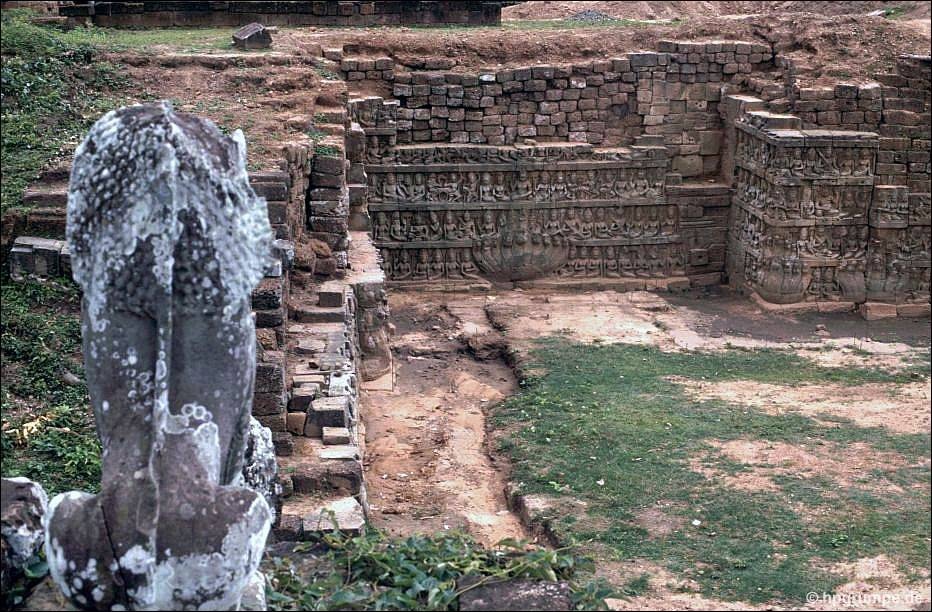 Angkor Thom: Terrasse Des Lepra Königs ...
