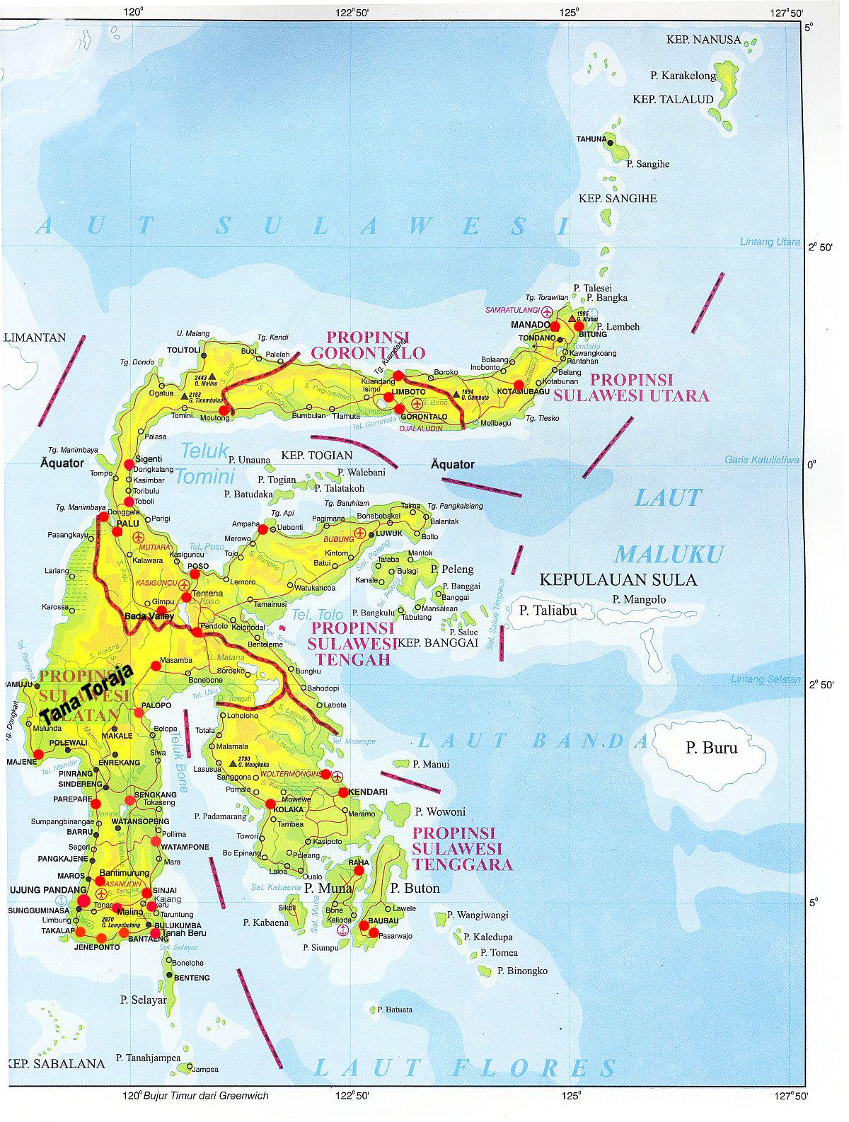 Download this Karte Von Sulawesi picture