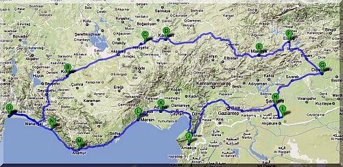 Karten der T  rk...1990 Google Maps
