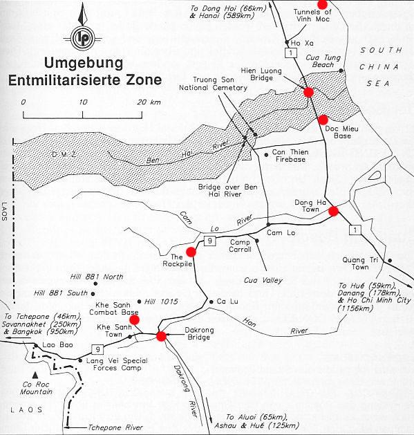 Vietnamkrieg Karte.Vietnam 71 Am 17 Breitengrad Der Ehemaligen Grenze Zwischen Nord